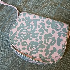 Other - Girl's  pink and gray rose purse Easter Spring